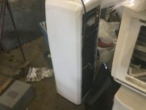 岡山市で回収した冷風機