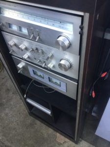 岡山市で回収したオーディオアンプ