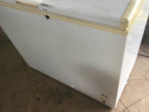 岡山県備前市で回収した冷凍ストッカー