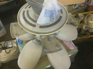 岡山市で回収したシーリングファン