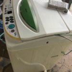 倉敷市で回収した洗濯機