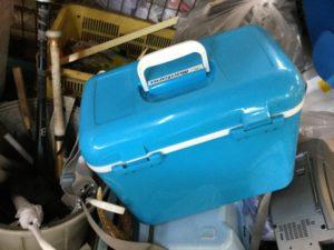 岡山市南区での不用品回収、粗大ゴミの片付け回収したクーラーボックス