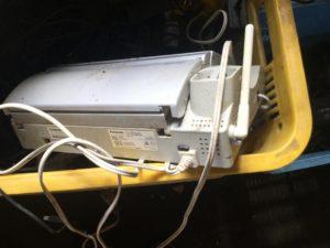 岡山市南区での不用品回収、粗大ゴミの片付け回収した電話機