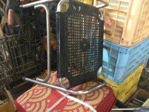 岡山市北区での不用品回収、粗大ゴミの片付け回収した椅子