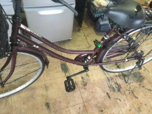 岡山県総社市清音での不用品回収した自転車