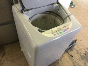 岡山県総社市清音での不用品回収した洗濯機