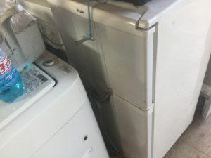 総社市総社での不用品回収した冷蔵庫