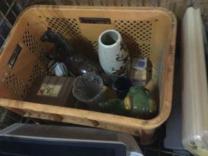 岡山市北区での不用品回収、粗大ゴミの片付け回収した置物