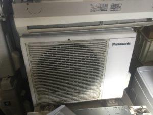 総社市総社での不用品回収したエアコン