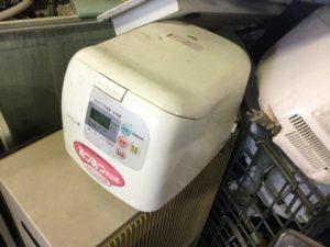 岡山県総社市清音での不用品回収した炊飯器