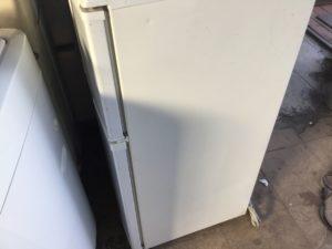 岡山県赤磐市での不用品回収、粗大ゴミの片付け回収した冷蔵庫