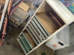 岡山県で回収した収納棚