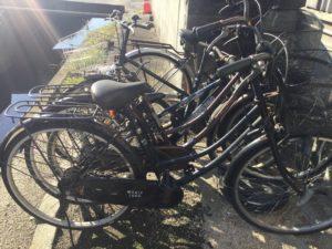 岡山県赤磐市での不用品回収、粗大ゴミの片付け回収した自転車