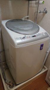 岡山市東区での洗濯機の回収から処分
