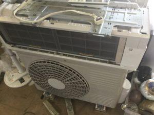 備前市でのエアコン無料回収