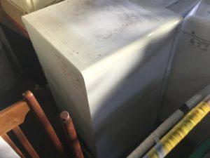 岡山市北区での不用品回収、粗大ゴミの片付け回収した冷蔵庫