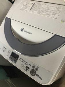 総社市総社での不用品回収した洗濯機