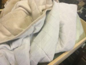 総社市での不用品回収した布団