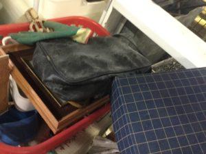 岡山市北区での不用品回収したバック