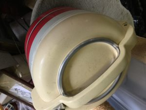 総社市総社での不用品回収、粗大ゴミの片付け回収した炊飯器
