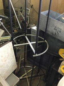 総社市総社での不用品回収、粗大ゴミの片付け回収したハンガー