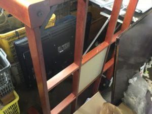 岡山県赤磐市での不用品回収、粗大ゴミの片付け回収したコタツ
