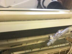 総社市での不用品回収したエアコン