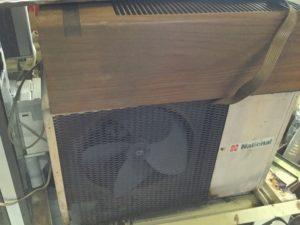 総社市総社での不用品回収、粗大ゴミの片付け回収したエアコン
