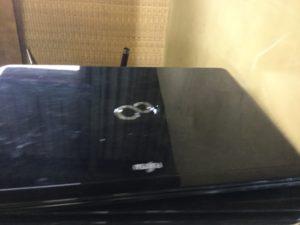 備前市伊部で不用品回収したノートパソコン