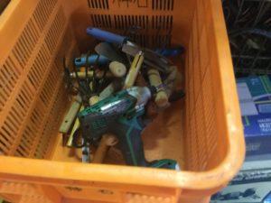 岡山市北区での不用品回収、粗大ゴミの片付け回収した手工具