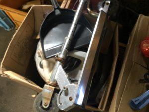 岡山県総社市での不用品回収、粗大ゴミの片付け回収したキックボード