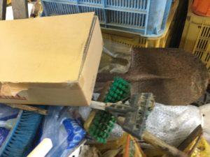 岡山市北区での不用品回収した掃除道具