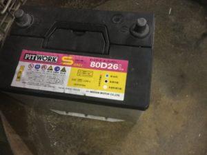 岡山県岡山市で回収したバッテリー