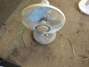 岡山県岡山市で回収した扇風機