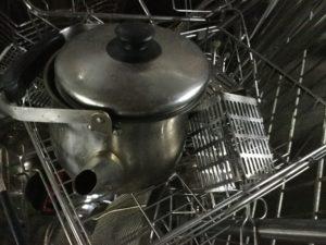 岡山県岡山市で回収した鍋