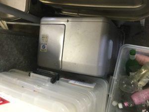 浅口市鴨方での不用品回収、粗大ゴミの片付け回収したファンヒーター