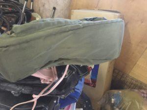 浅口市鴨方での不用品回収、粗大ゴミの片付け回収したバック