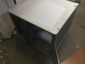 浅口市鴨方での不用品回収、粗大ゴミの片付け回収したテレビ台