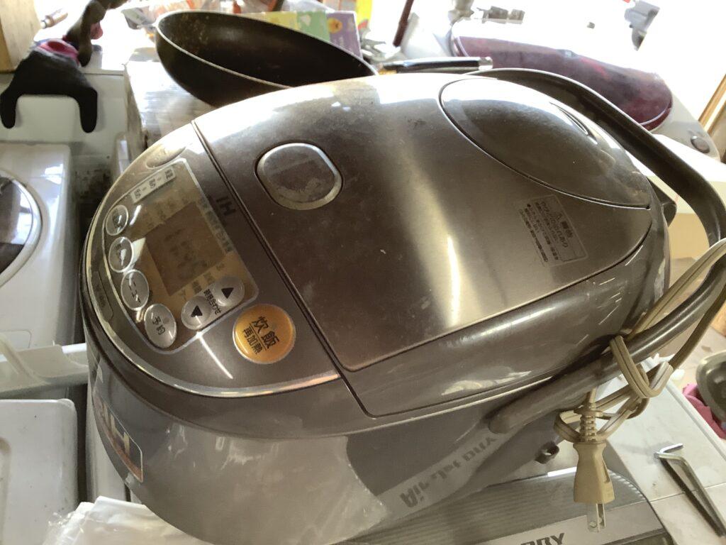岡山市で回収した炊飯器