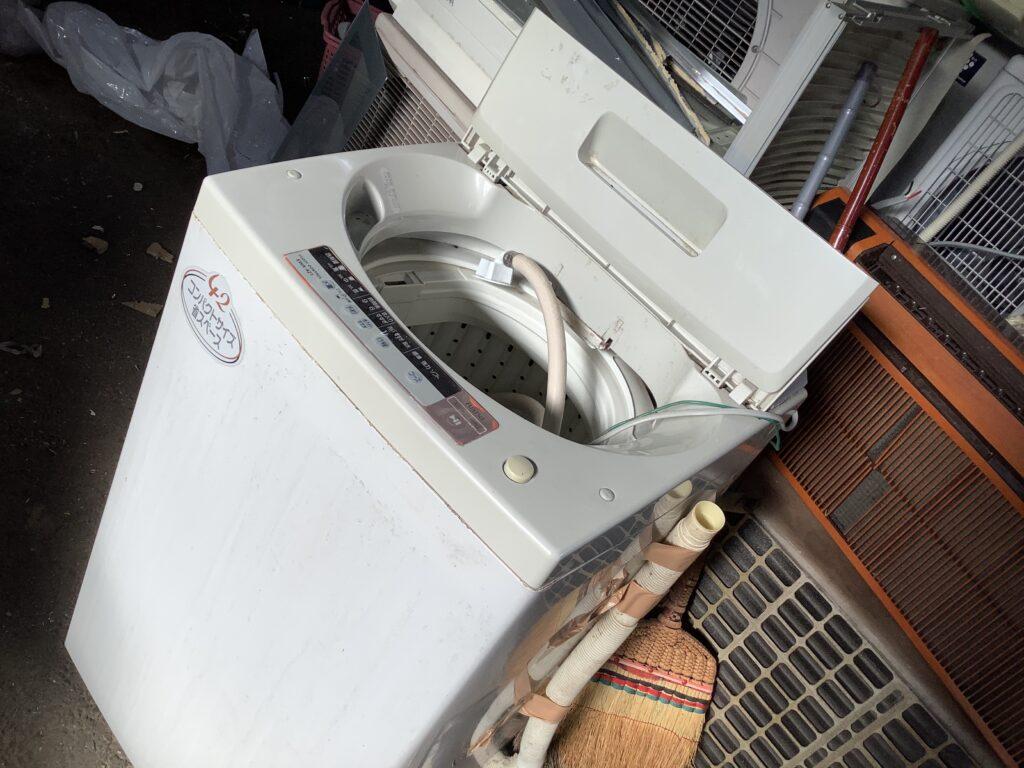 岡山県総社市で回収した洗濯機