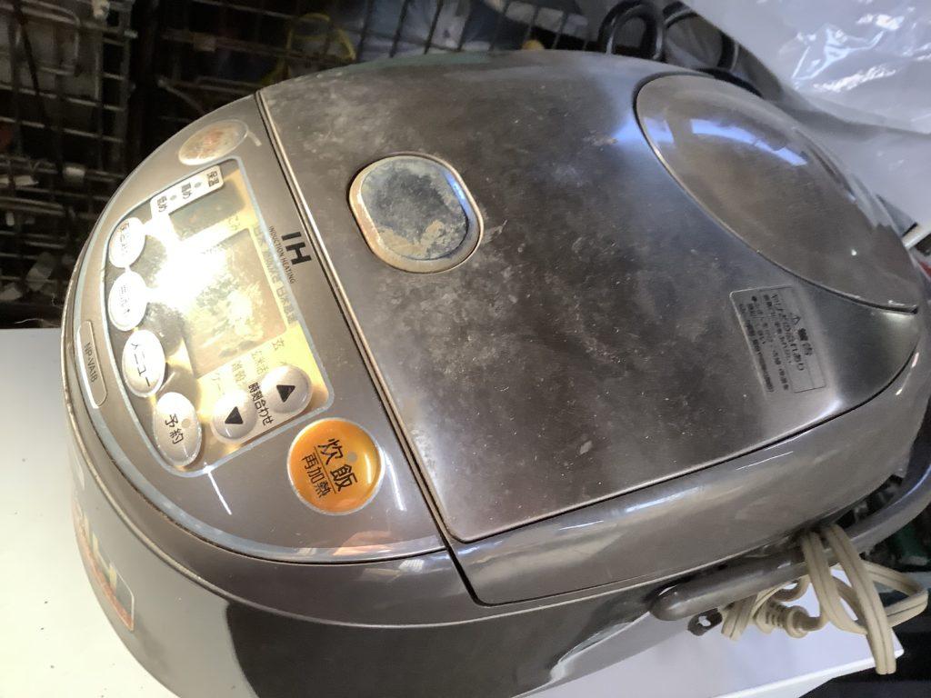 岡山市南区で回収した炊飯器