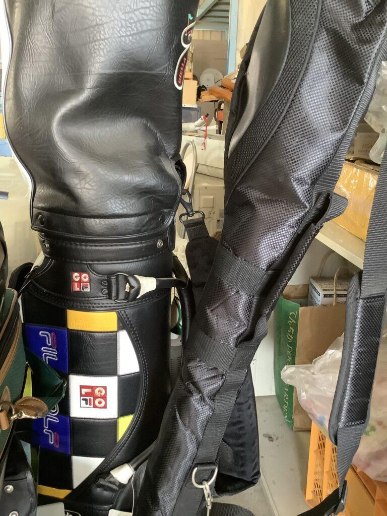 岡山岡山県玉野市でのエアコンと同時に回収したゴルフバック