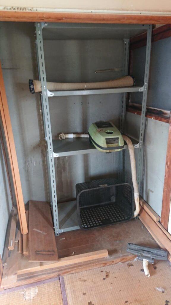岡山市北区で回収した棚
