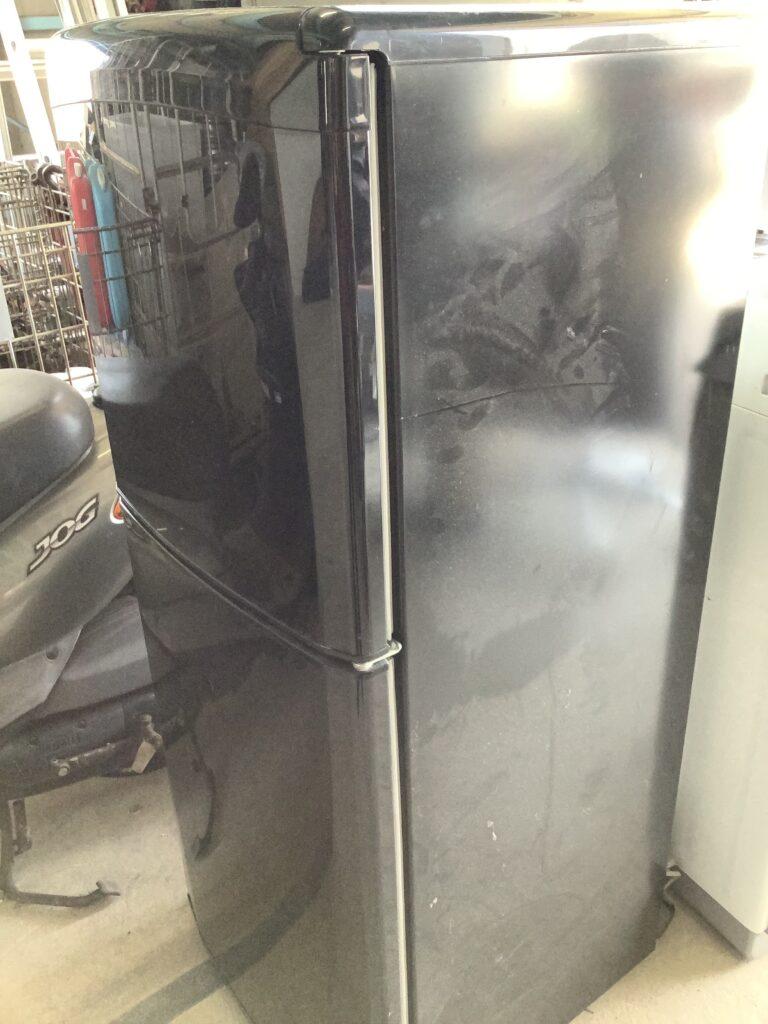 岡山県玉野市でのエアコンとどっち回収した冷蔵庫