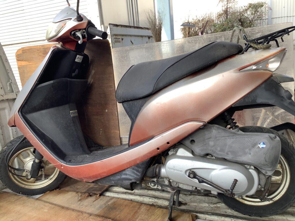 岡山市内で回収したバイク