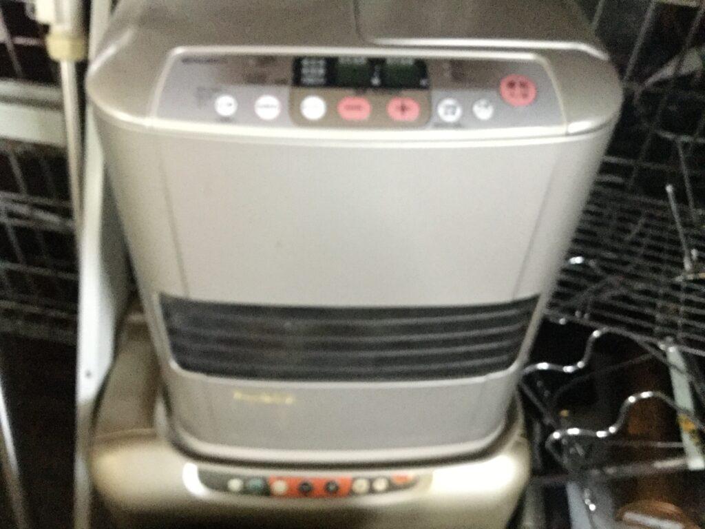 岡山市で回収した石油ファンヒーター