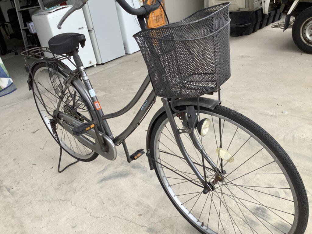 岡山市内で回収した自転車