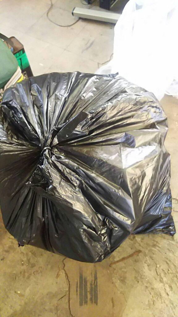 総社市で回収した袋ゴミ