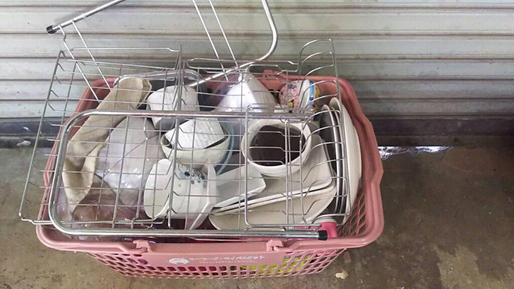 総社市で回収した食器