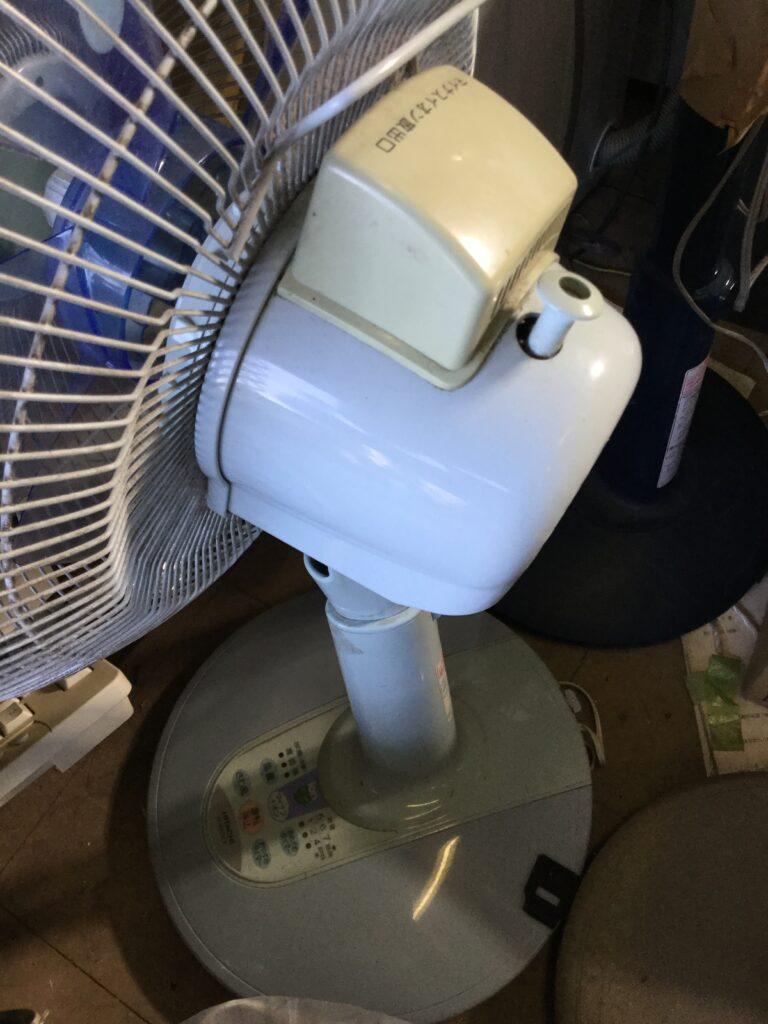 赤磐市で回収した扇風機